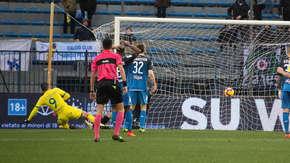Gol Mariusza Stępińskiego z meczu Empoli - Chievo