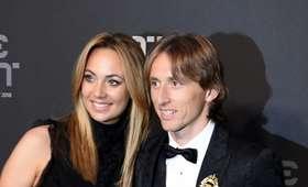 Luka Modrić i jego żona
