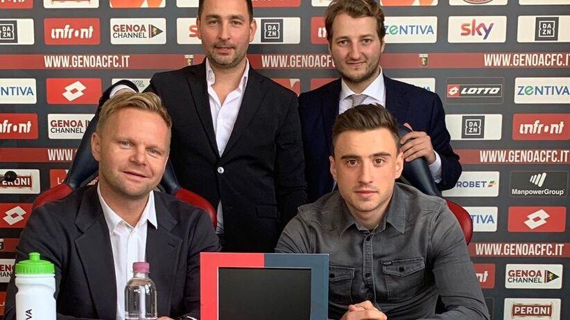 Filip Jagiełło piłkarzem Genoi