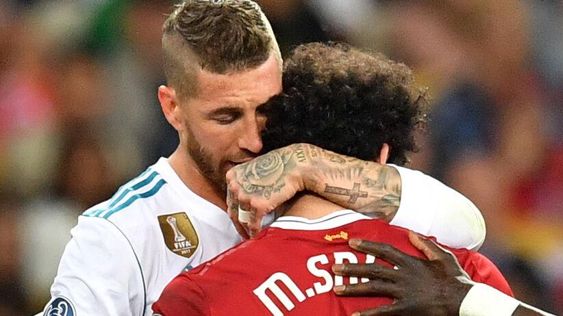 Sergio Ramos i Mohamed Salah