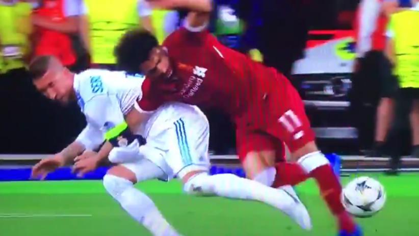 Sergio Ramos i Mohamed Sallah