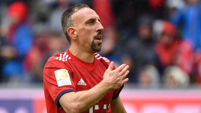 Franck Ribery odchodzi z Bayernu