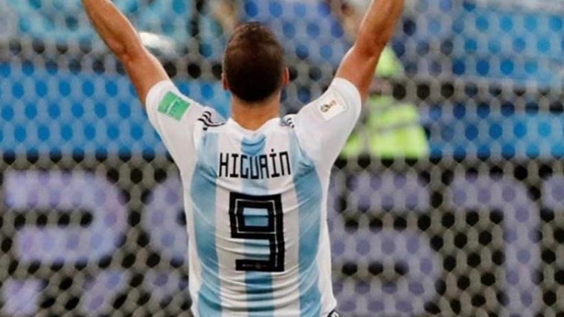 Gonzalo Higuain zakończył reprezentacyjną karierę
