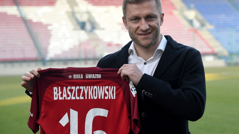 Jakub Błaszczykowski zaprezentowany w Wiśle Kraków