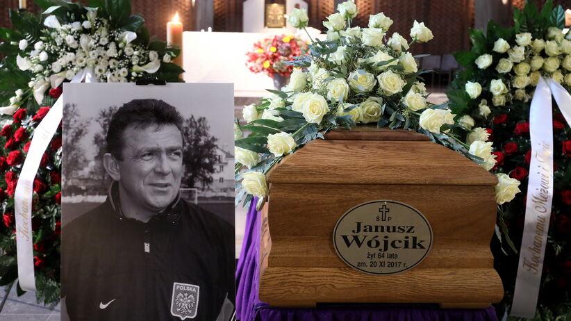 Pogrzeb Janusza Wójcika