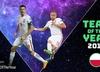 Lewandowski i Glik nominowani przez UEFA do drużyny 2017 roku