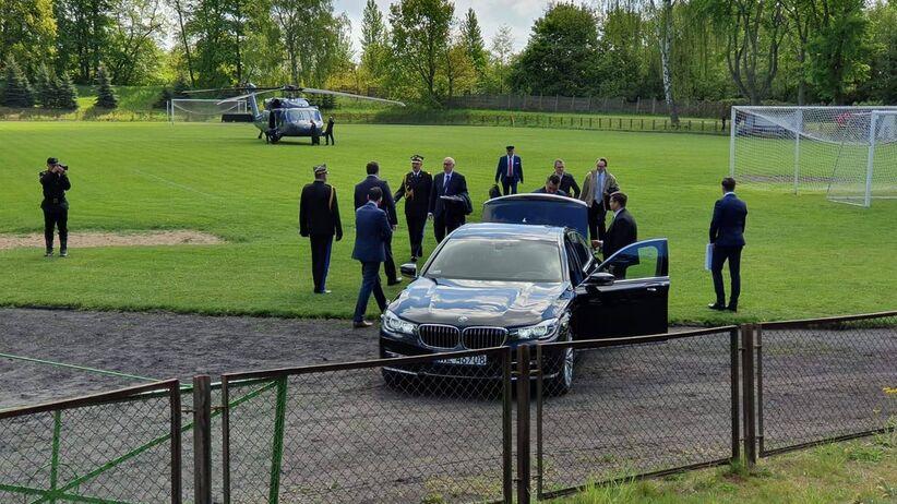 Minister Brudziński przerwał mecz w Choszcznie