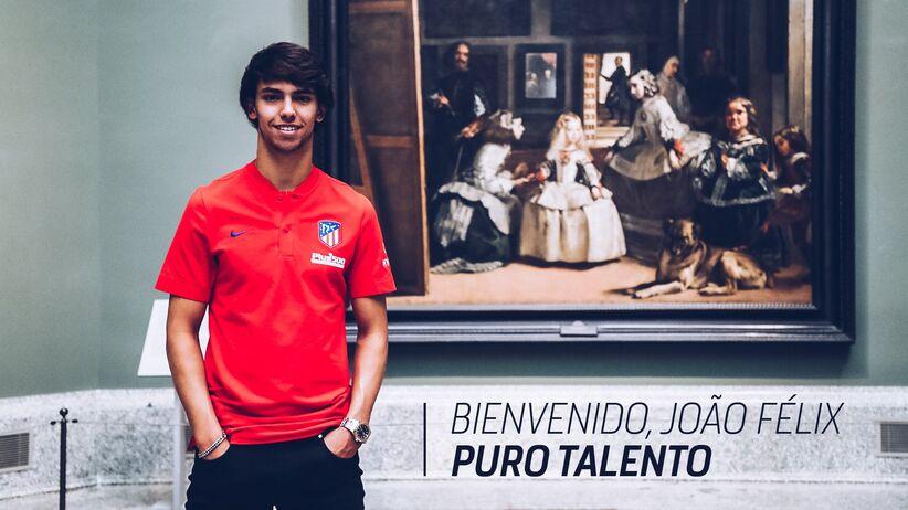 Joao Felix w Atletico Madryt