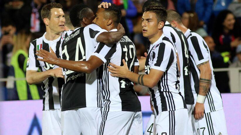 Juventus w meczu z Crotone