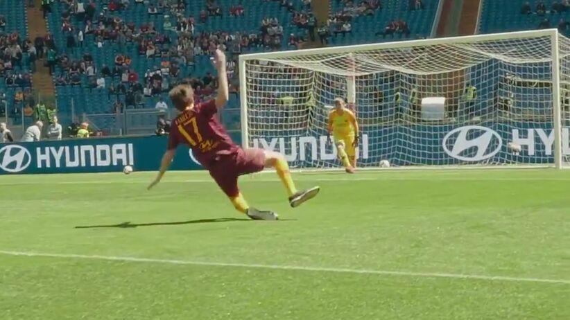 Kibic wyśmiał piłkarza Romy