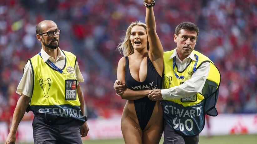 Kinsey Wolanski chciała wbiec na murawę w finale Copa America