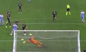 Fenomenalna interwencja Szczęsnego w meczu Lazio - Juventus