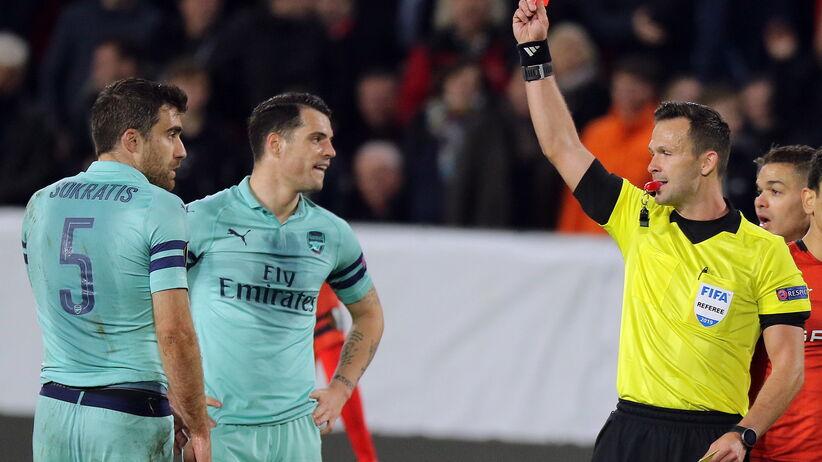 Arsenal przegrał z Rennes