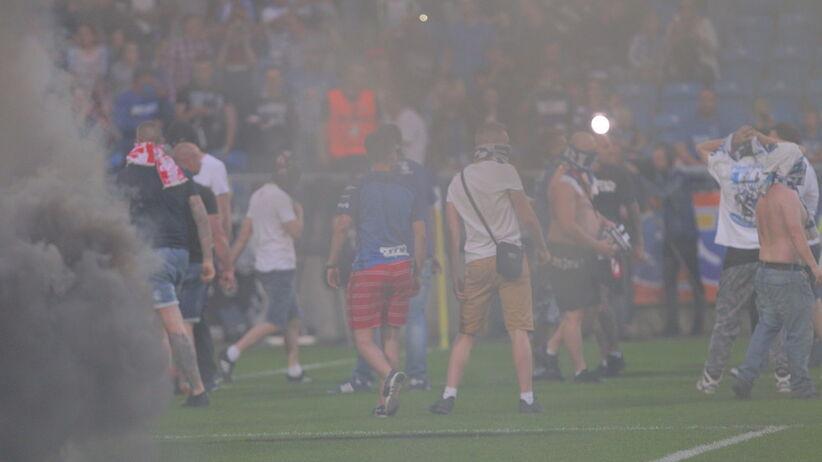 Skandal podczas meczu Lech - Legia