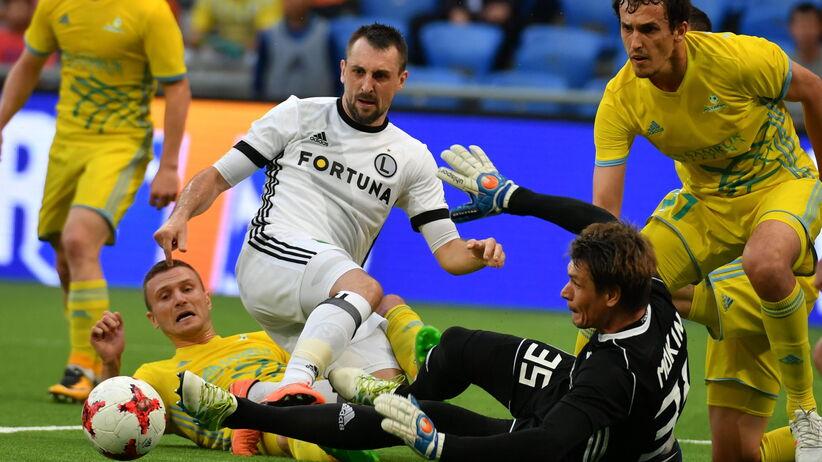 Gol stracony w 94. minucie, awans Legii do Ligi Mistrzów mocno się oddalił