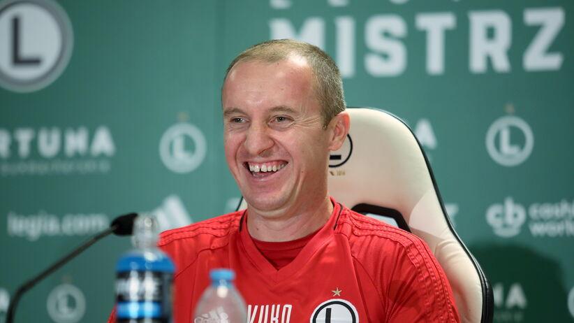 Aleksandar Vuković poprowadzi Legię w meczu LE z Dudelange