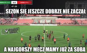 Legia - Europa FC MEMY