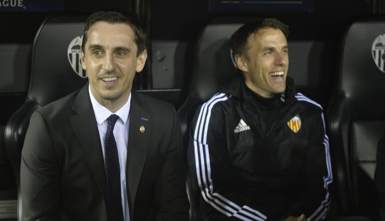 Gary Neville doprowadził Valencię na skraj grupy spadkowej