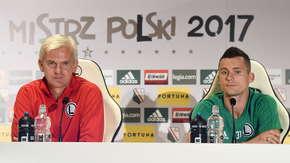 Jacek Magiera i Krzysztof Mączyński