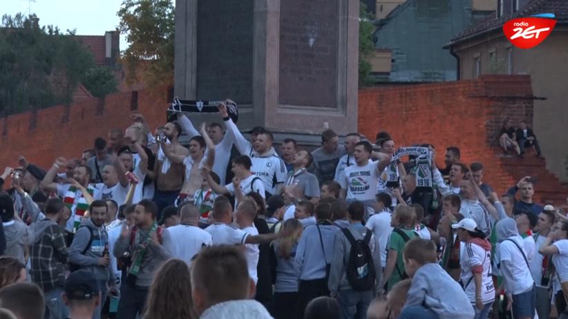 Legia Warszawa mistrzem kraju! Wielka feta w stolicy [WIDEO]