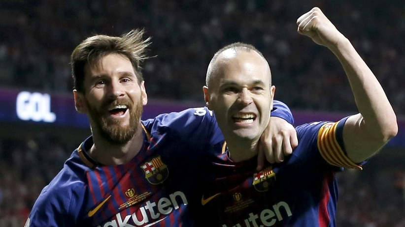 Leo Messi i Andres Iniesta