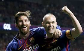 Leo Messi i Andres Iniesta