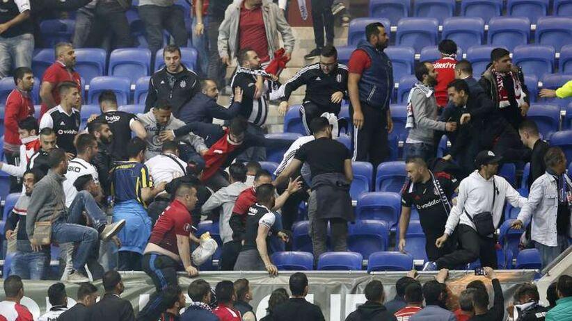 Liga Europy: Zakaz stadionowy i dwa śledztwa po meczu Everton - Lyon