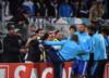 Liga Europy: Evra kopnął kibica! Czerwona kartka jeszcze przed meczem [WIDEO]