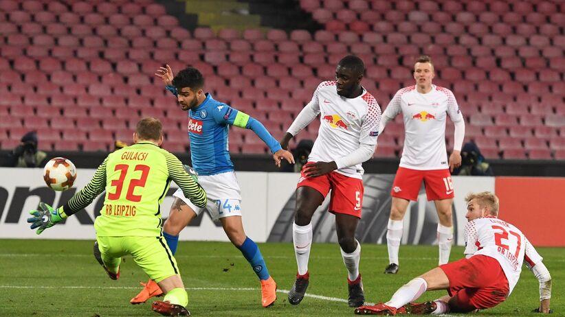 Liga Europy: Wysokie wygrane Milanu, Arsenalu i Atletico, wpadka Napoli