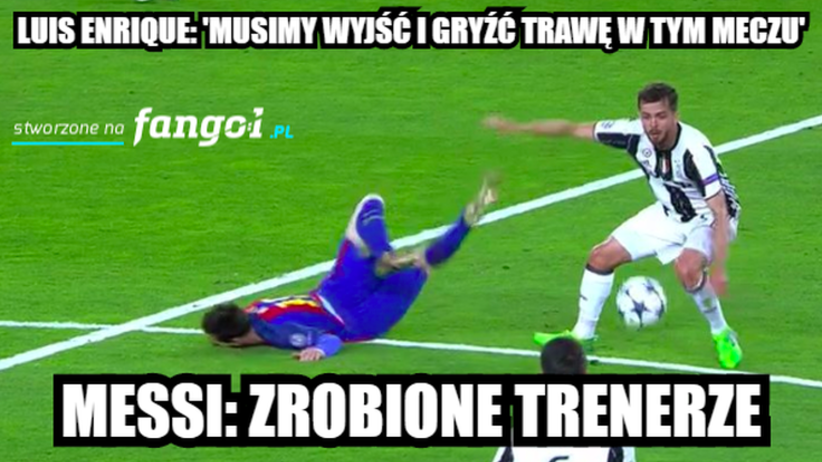 MEMY po Barcelona - Juventus