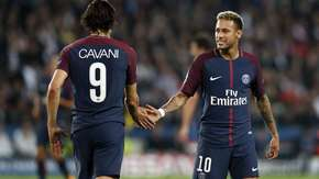 Neymar, Cavani