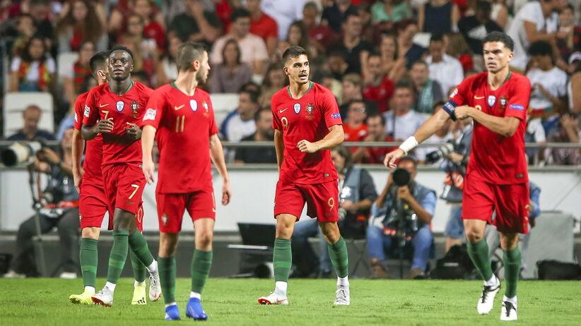 """Liga Narodów: Portugalia wygrała z Włochami i została liderem """"polskiej"""" grupy"""