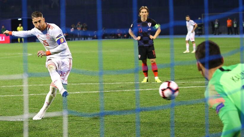 Liga Narodów: Pięć goli w meczu Chorwacja - Hiszpania