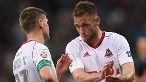 Maciej Rybus zdobył gola w meczu Lokomotiw - Anżi