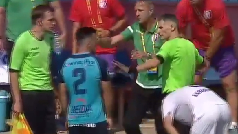 Faul trenera w Rumunii