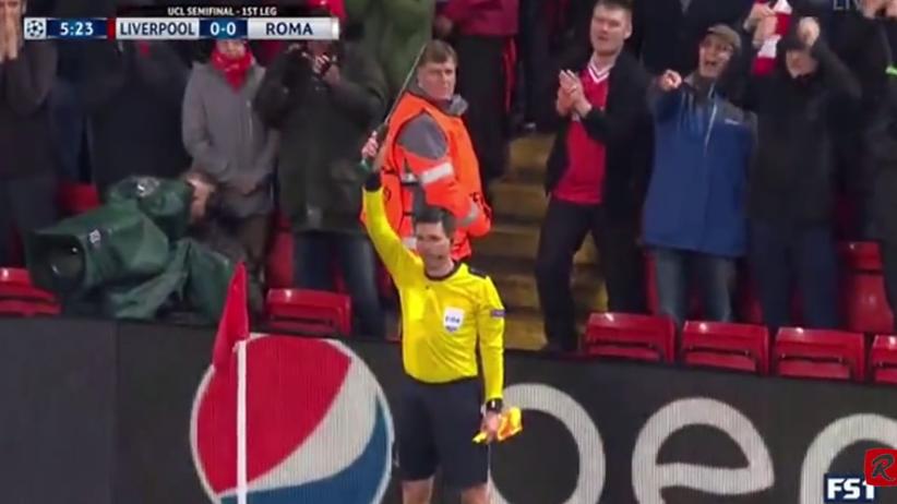 sędzia meczu Liverpool - Roma