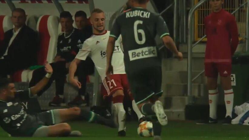 Brutalny faul Żarko Udovicicia