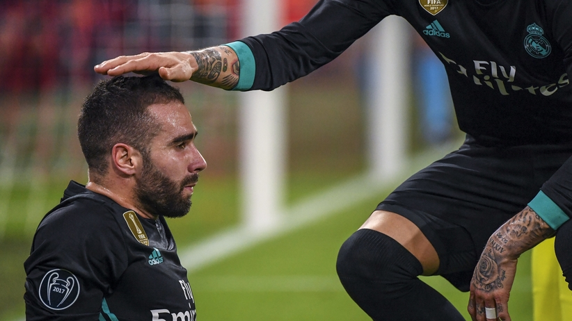 Dani Carvajal nie zagra w rewanżu z Bayernem