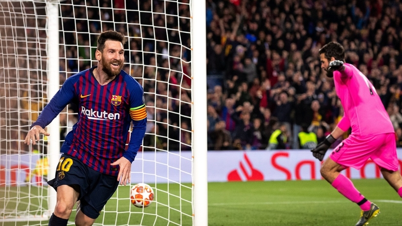 Lionel Messi strzelcem najładniejszego gola minionego sezonu LM