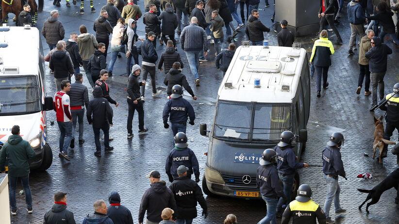 Starcia przed meczem Ajax - Juventus