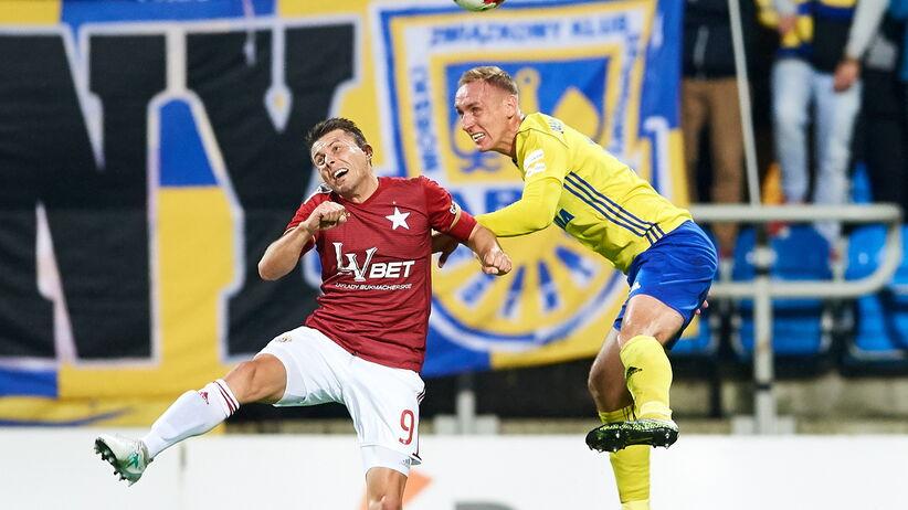 Ekstraklasa: Arka lepsza od Wisły. Piękny gol Małeckiego