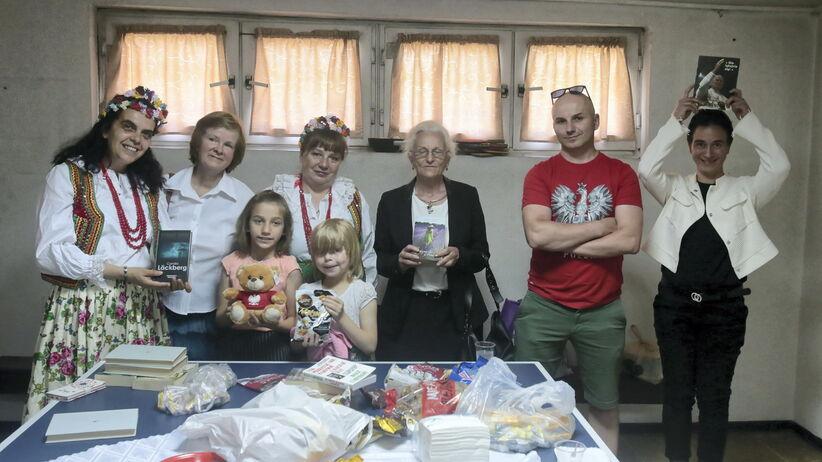 Spotkanie kibiców z Polonią w Macedonii Północnej