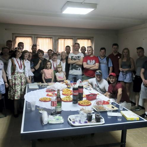 Spotkanie kibiców z Polonią w Macedonii Północnej (1)