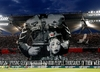 Oprawa na meczu Legia - Astana