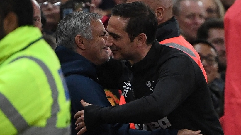 Frnk Lampard pokonał Jose Mourinho
