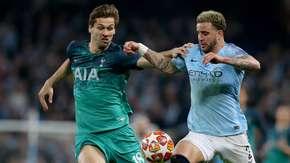 Koszulki City i Tottenhamu były zbyt podobne