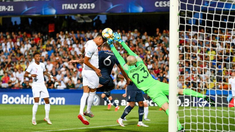 Anglia - Francja na ME U-21