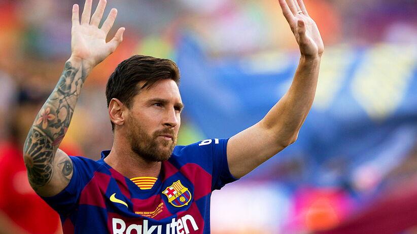 Lionel Messi kontuzjowany