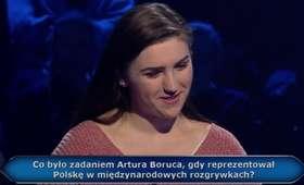 Pytanie o Artura Boruca w Milionerach