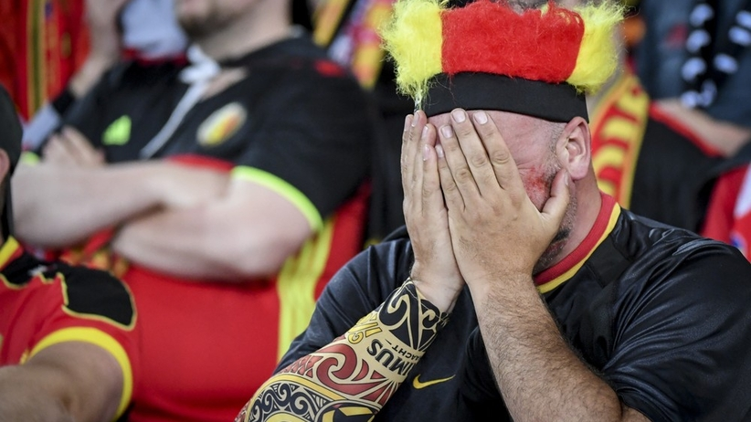 Kibic reprezentacji Belgii na Euro 2016